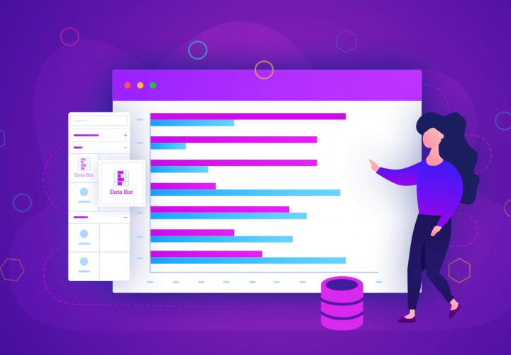 Create Sales Indicator Report Using Data bar