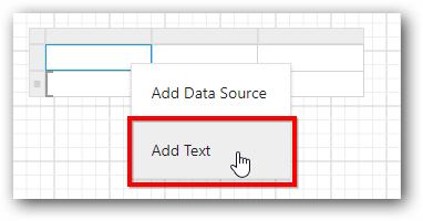 Edit table header text