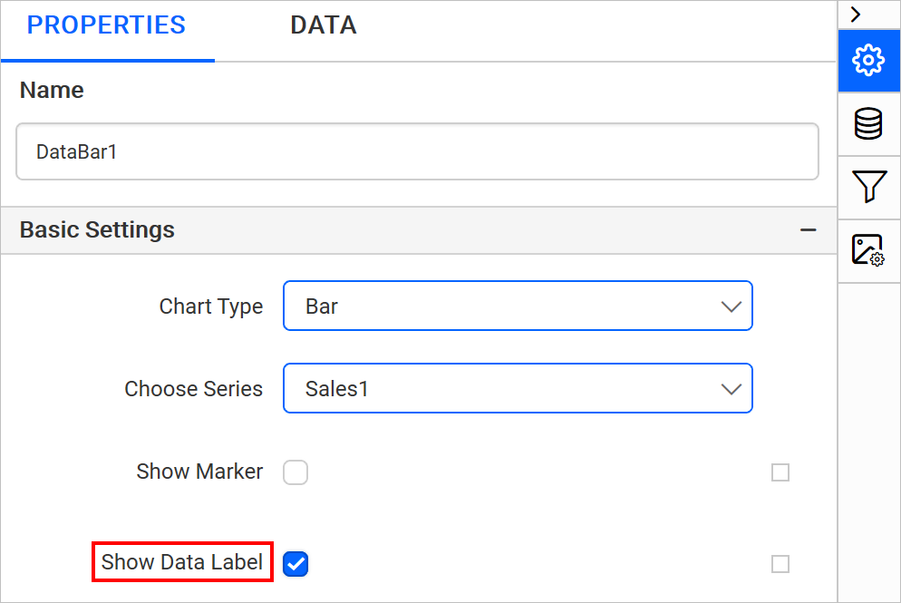Enable Show Data Label property