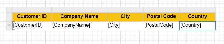Assign data values