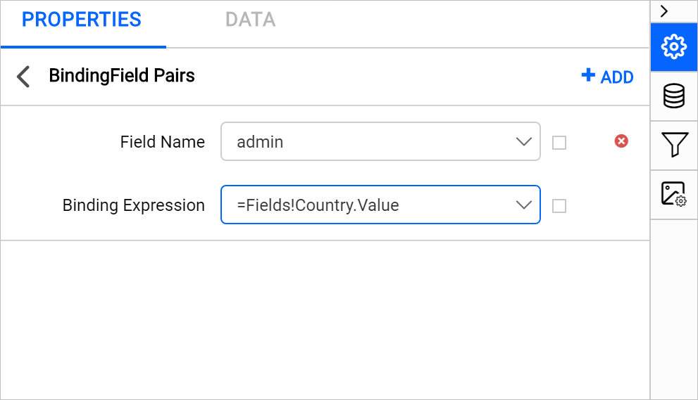 Bind analytical and spatial data