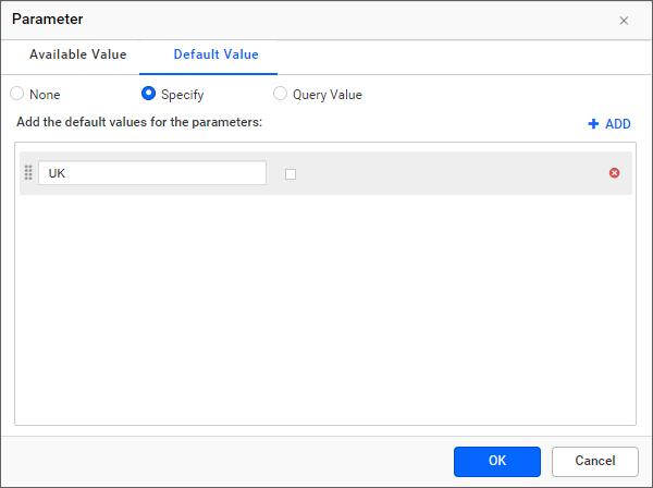 Assign default value
