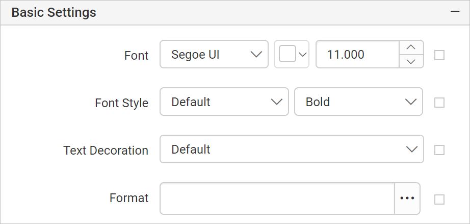 Set Font Properties