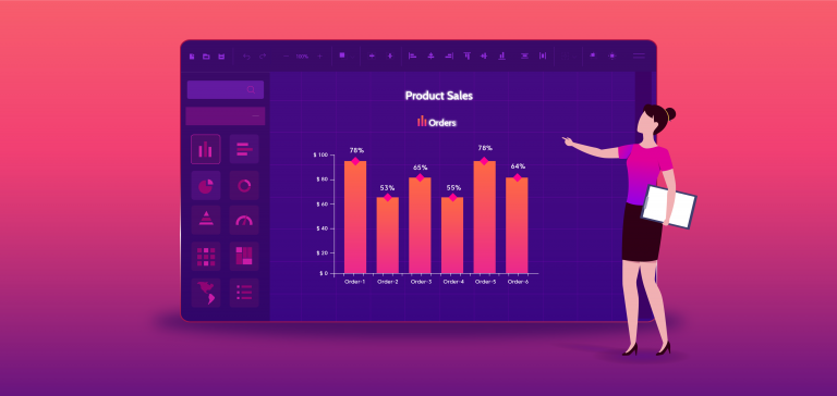 Create a Chart Report Using Bold Reports Designer