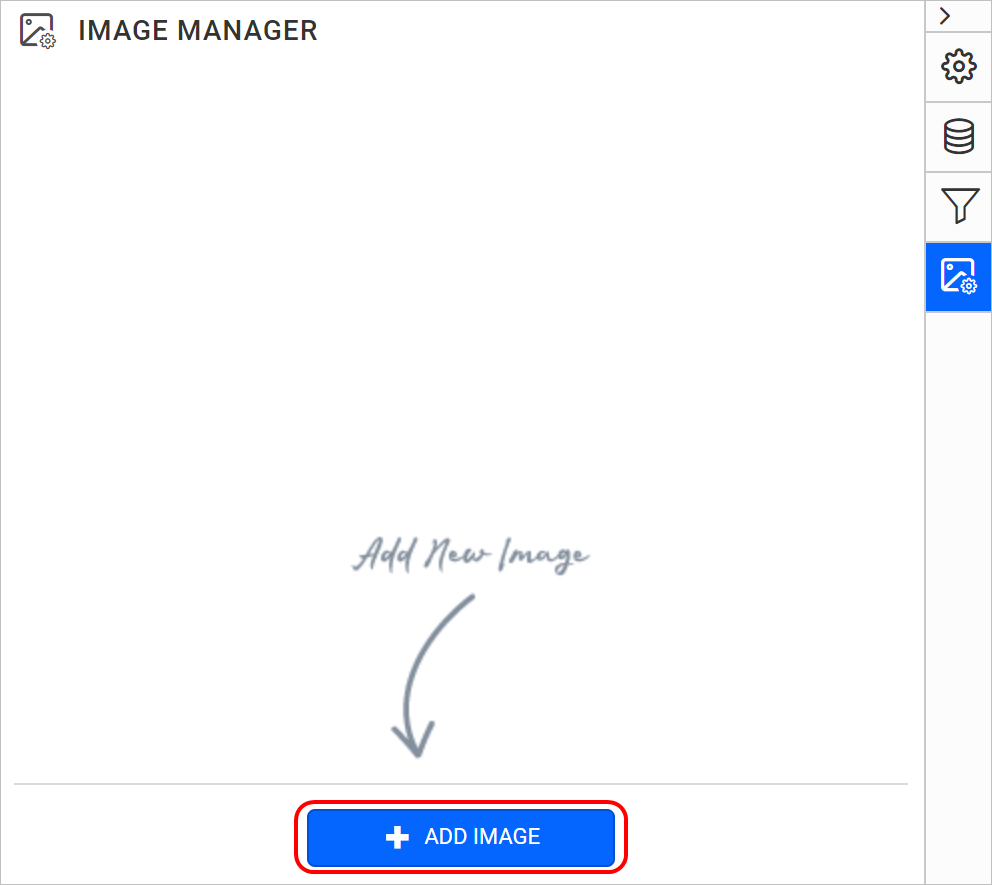 Add image button