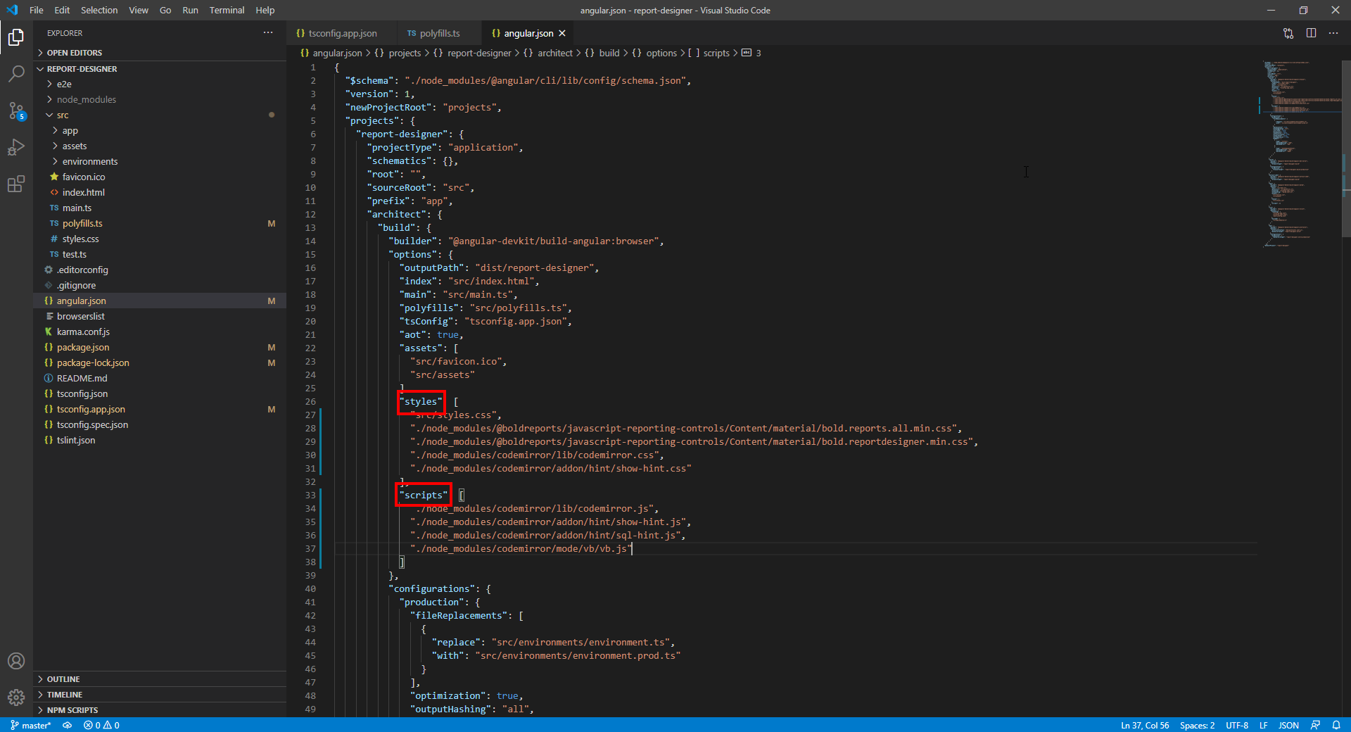 Adding Code Mirror reference