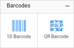 Barcode report item