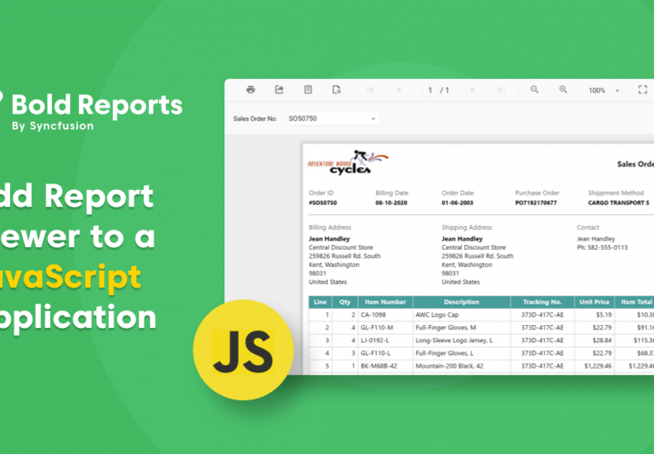 Add ReportViewer to a Javascript Application