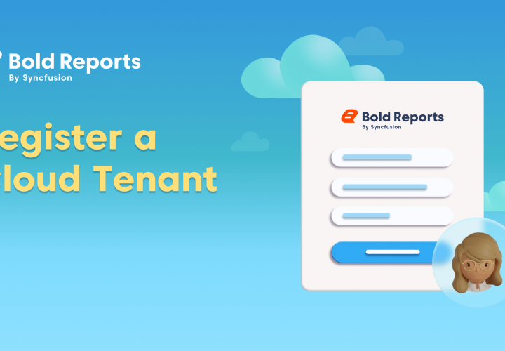 Register a Cloud Tenant in Bold Reports