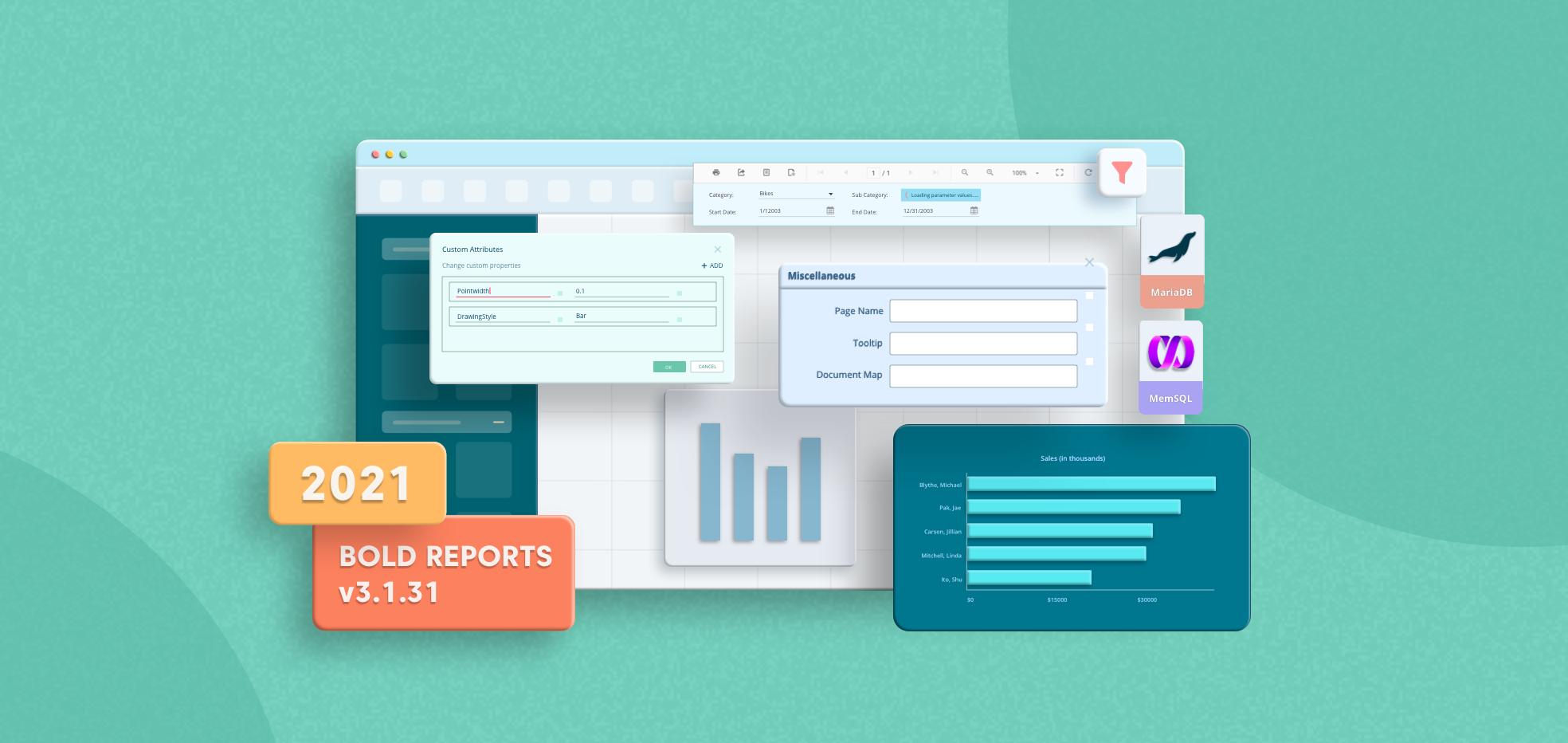 What's New in Bold Reports v3.1.31