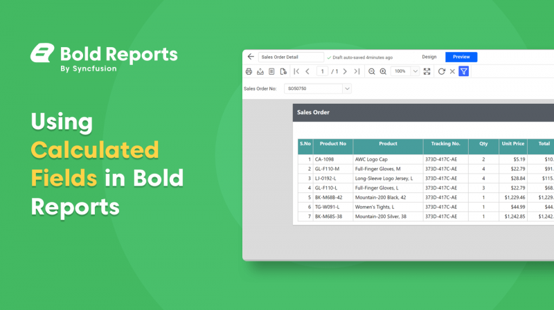 Using Calculated Fields in Reports